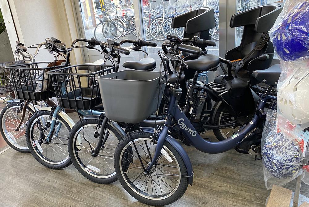 子乗せ電動自転車